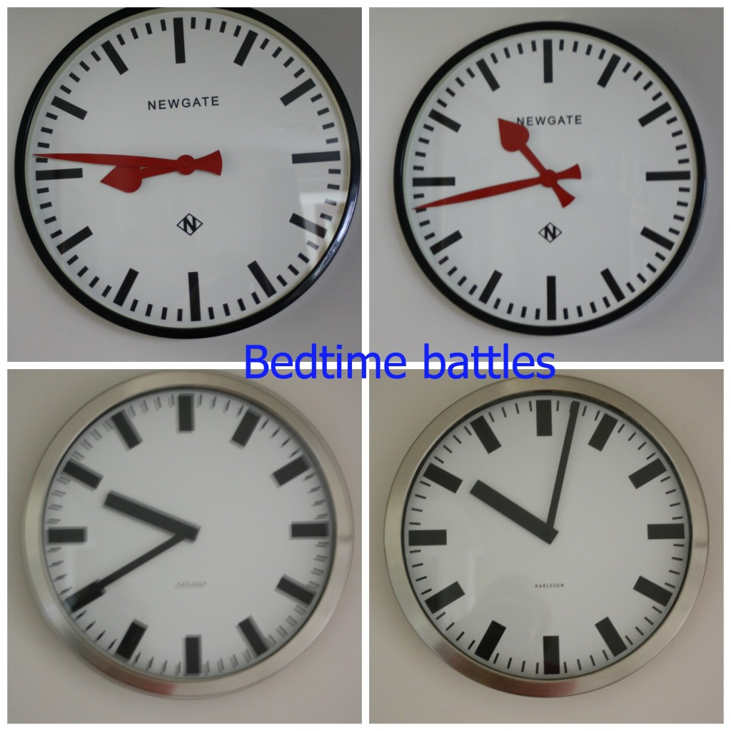 PicMonkey clocksCollage, Bedtime, clocks