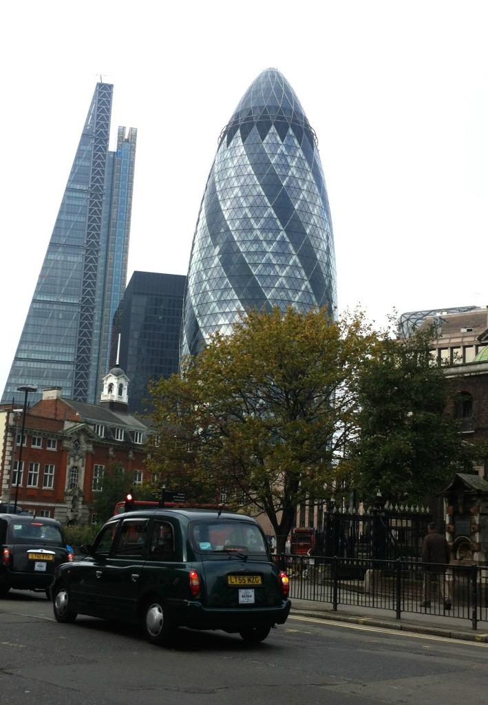 London, Skyline, The Gallery