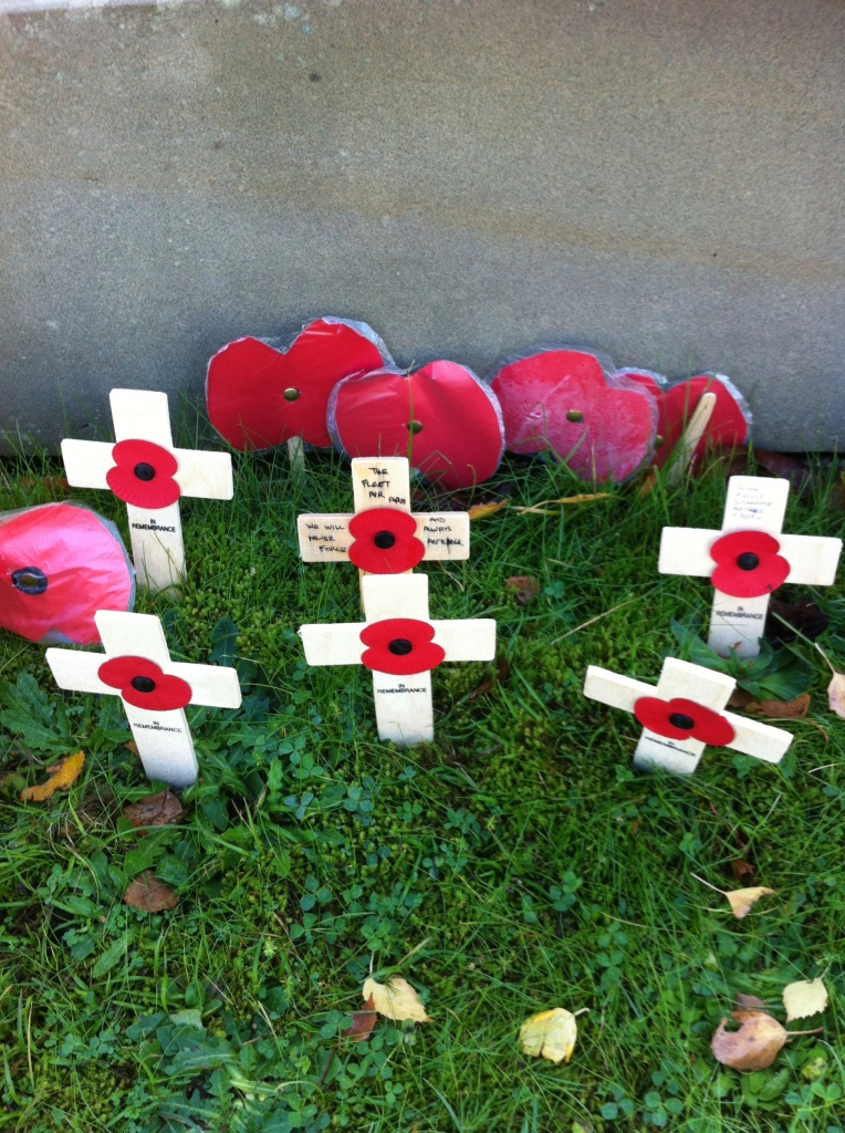 Poppies, Rememembrance day, church, son, 365