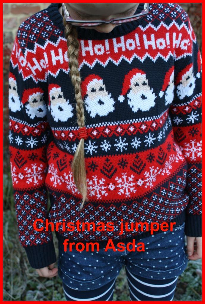 Christmas jumper, Daughter, Fashion, Asda