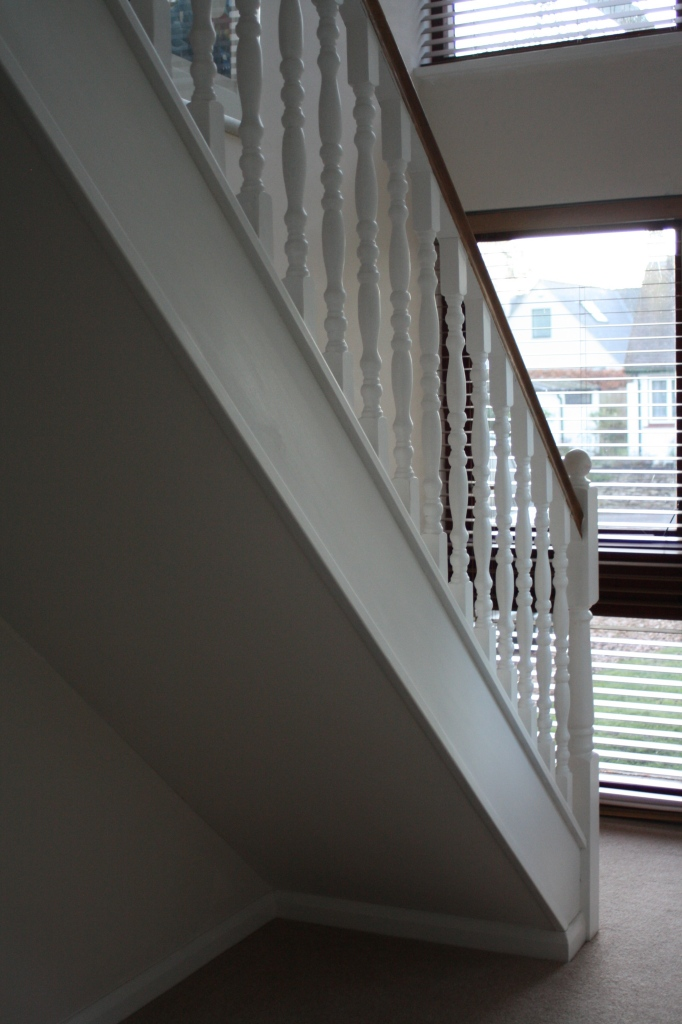 Stairs, new house, 365