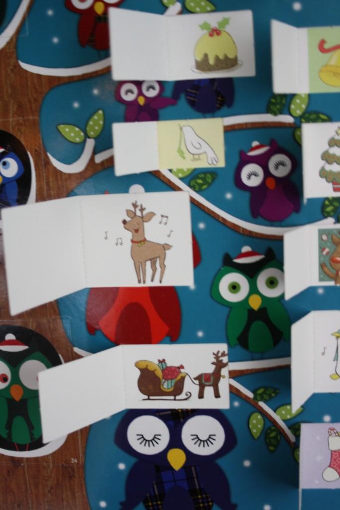 Advent calendar, Christmas, 365