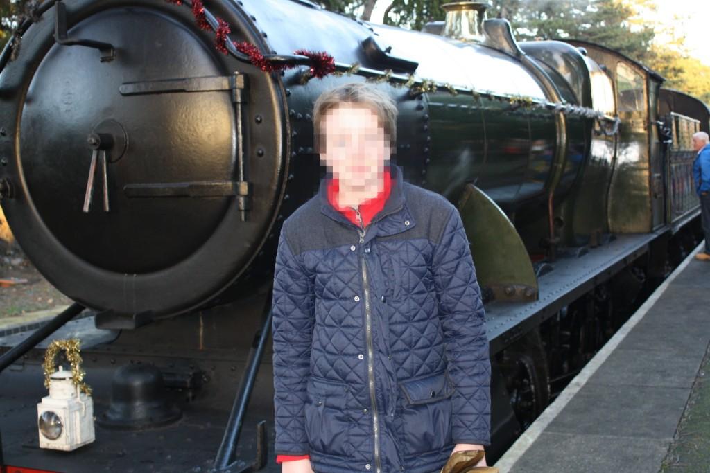 Santa train, Father Christmas, Son, 365