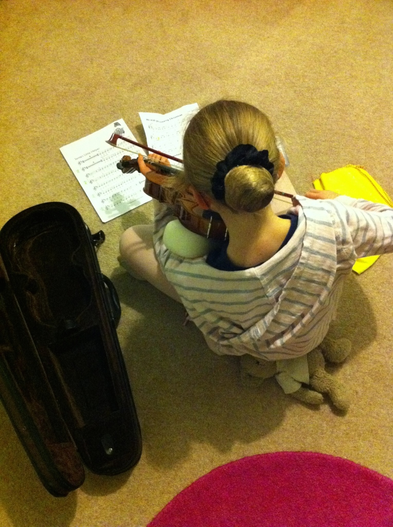 Daughter, Violin, 365