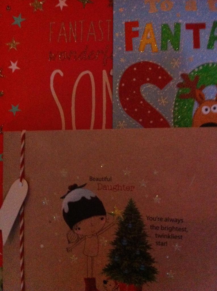 Christmas cards, family, Christmas