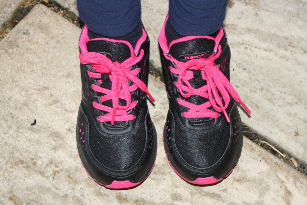Daughter, trainers, running, 365