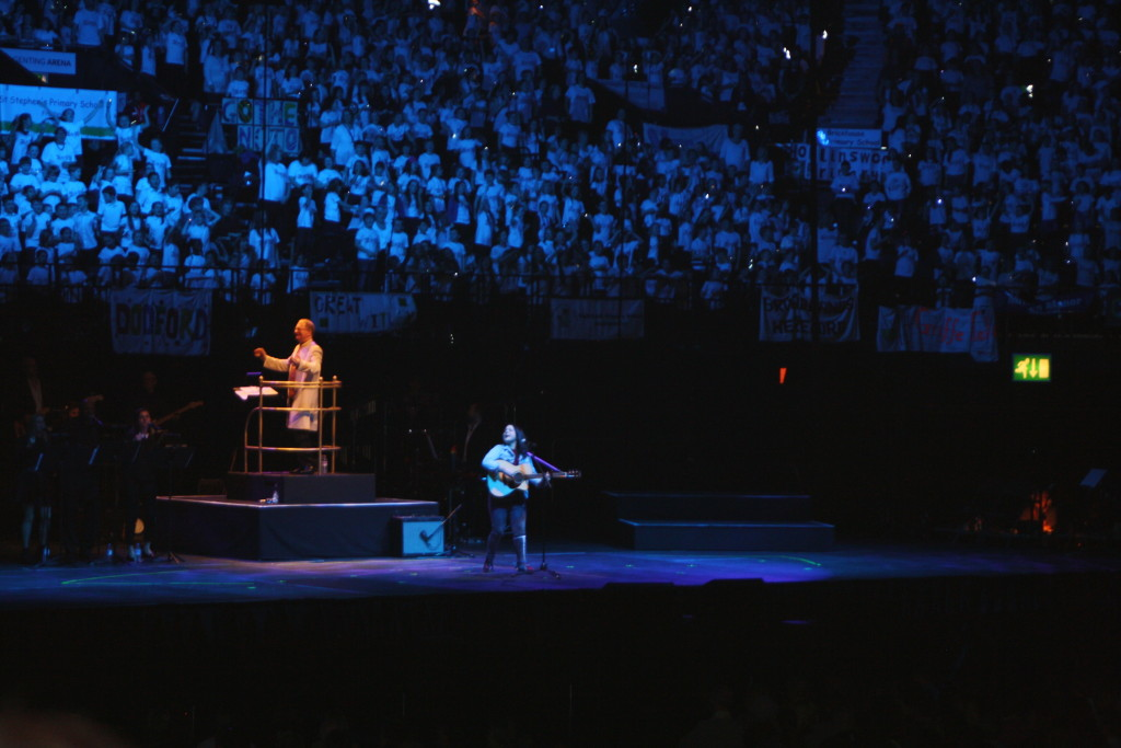 Young Voices, School choir, Daughter, Lucy Spraggan