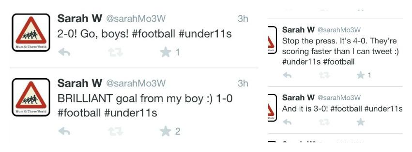 PicMonkey footballtweetsCollage, Football, Twitter, Tweet, Loud 'n' Proud, Son