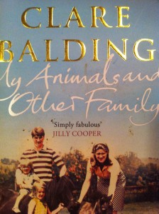 My Animals and Other Family, Clare Balding, Book review