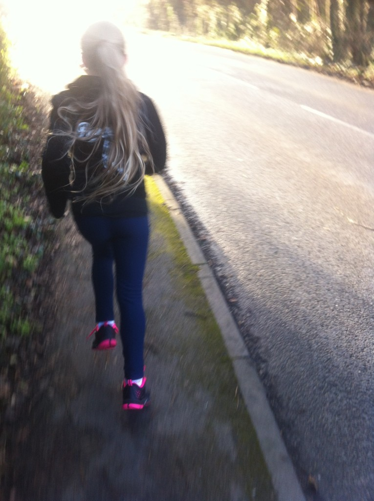 Daughter, running, Loud 'n' Proud