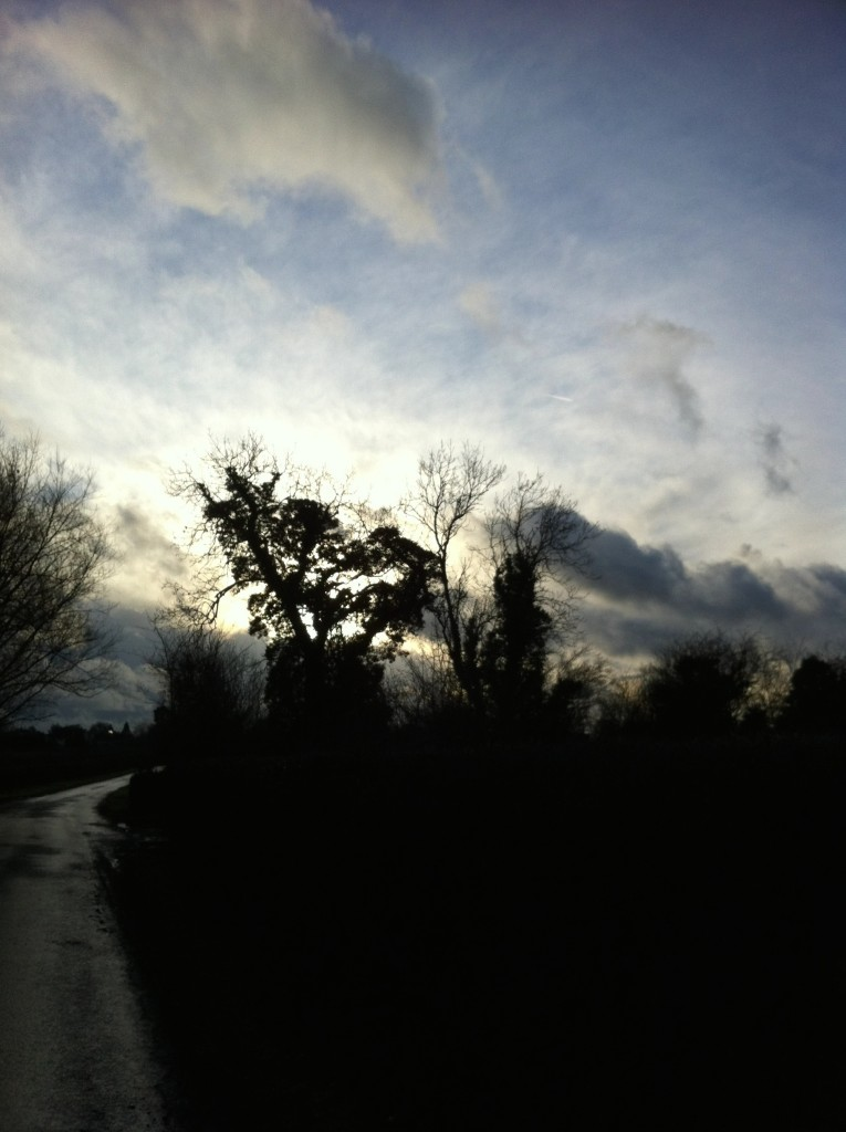 Sky, Silhouette, Walk, Countryside, 365