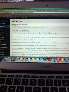 Blogging, Vlogging, Bloggers