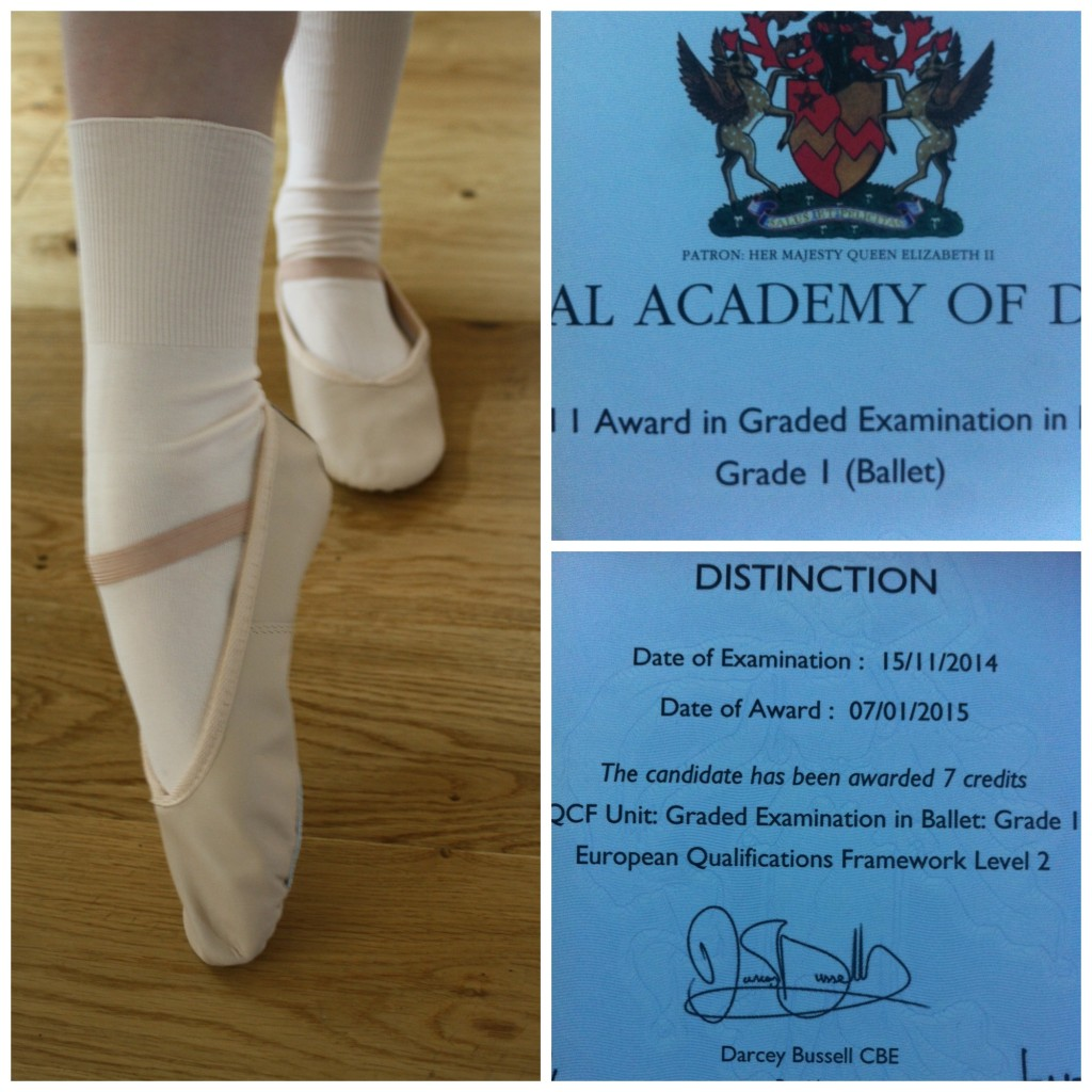 PicMonkey balletdistinctionCollage, Ballet, Daughter, Exam, Distinction, Loud 'n' Proud