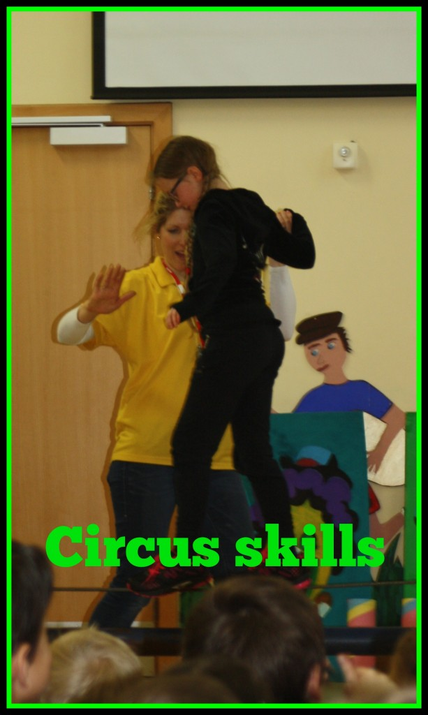 Daughter, Circus skills, School