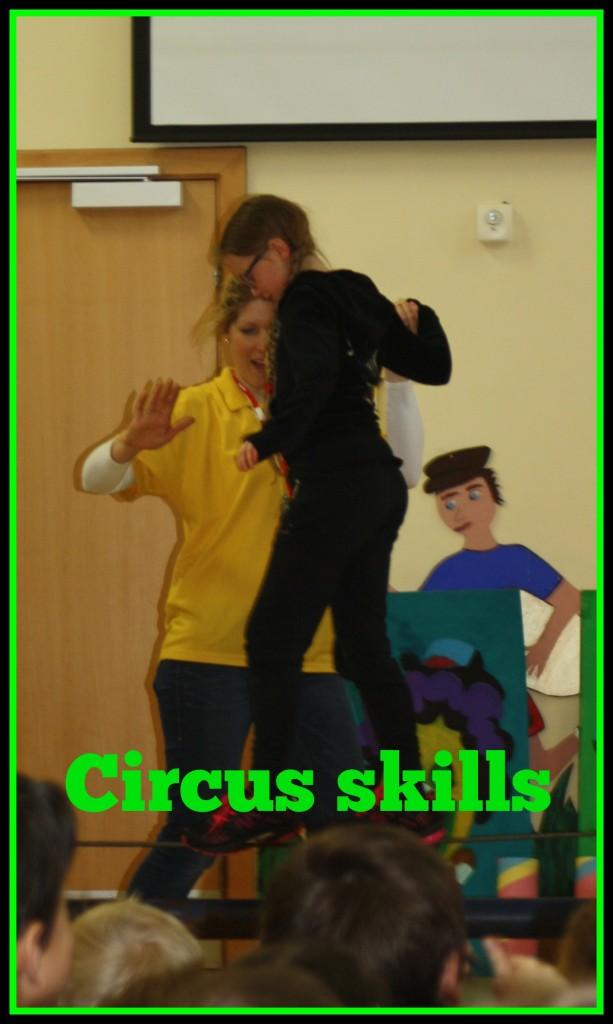 Daughter, Circus skills, School
