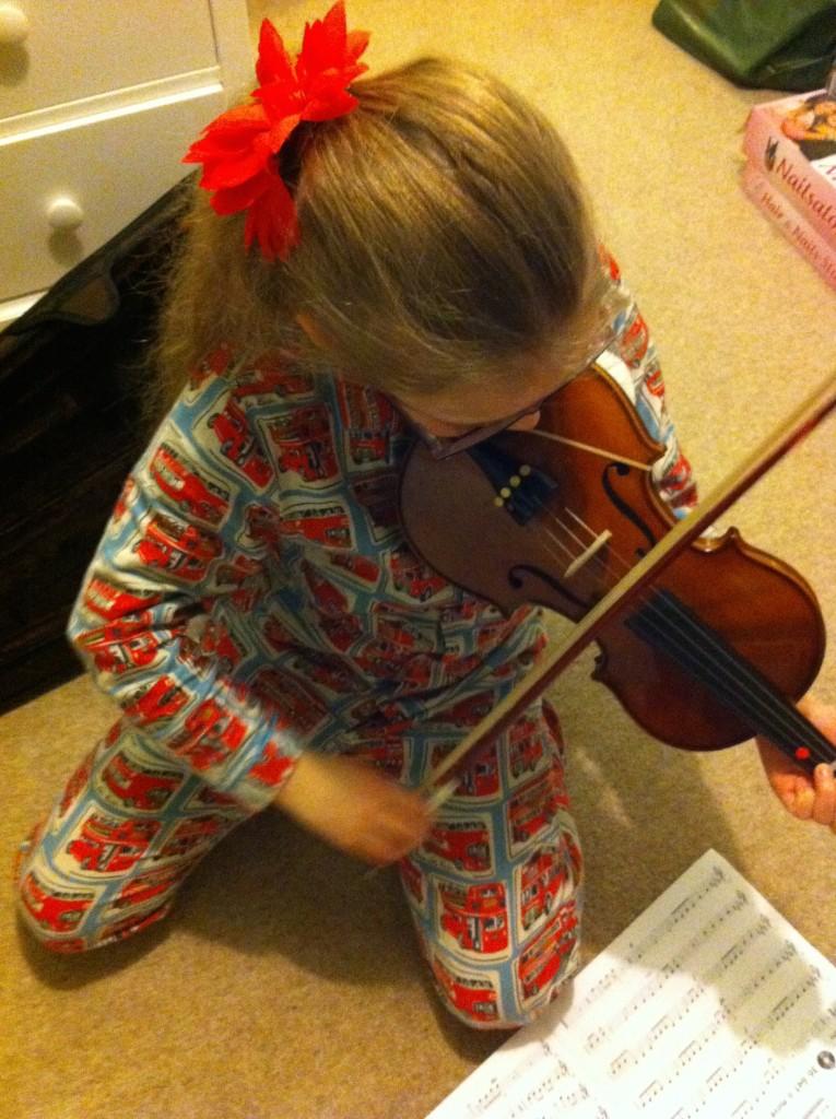 Daughter, Violin, 365