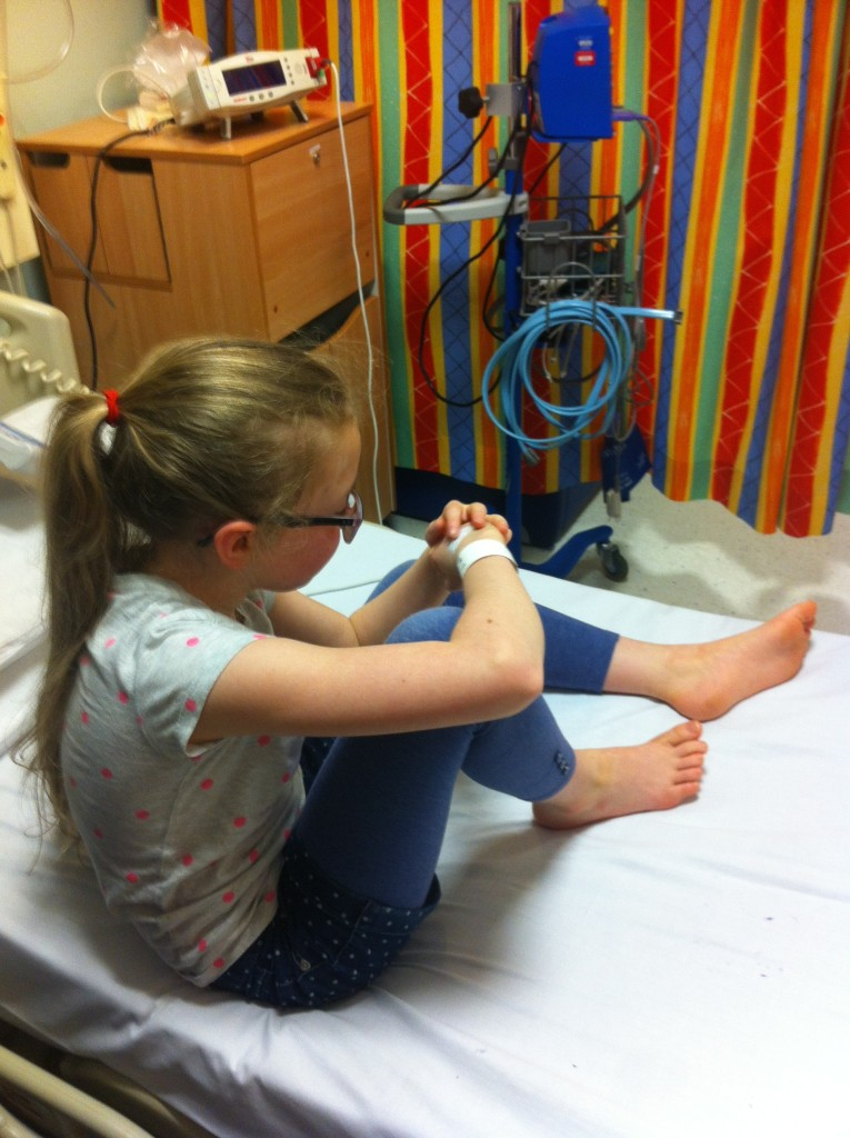 Daughter, Poorly, Hospital, Silent Sunday, My Sunday Photo