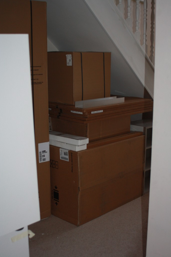 Boxes, New kitchen, 365