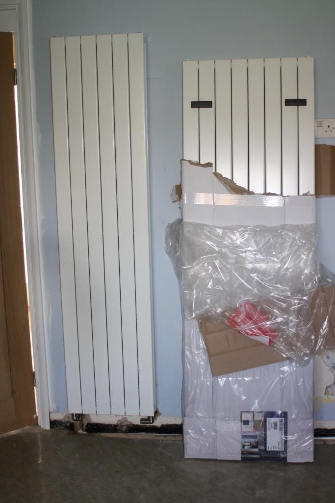 Radiator, New kitchen, 365
