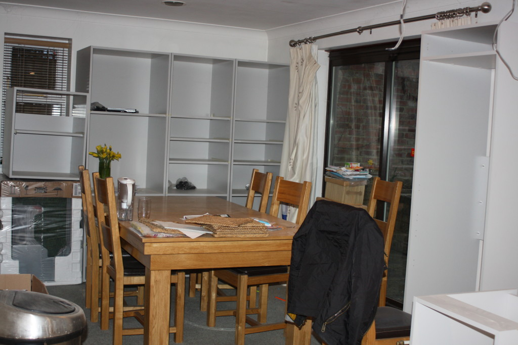 Dining room, New kitchen, 365
