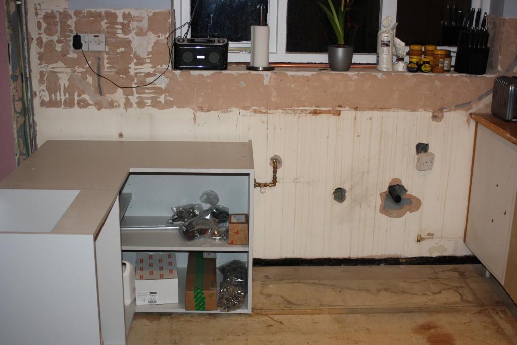 New kitchen, Old kitchen