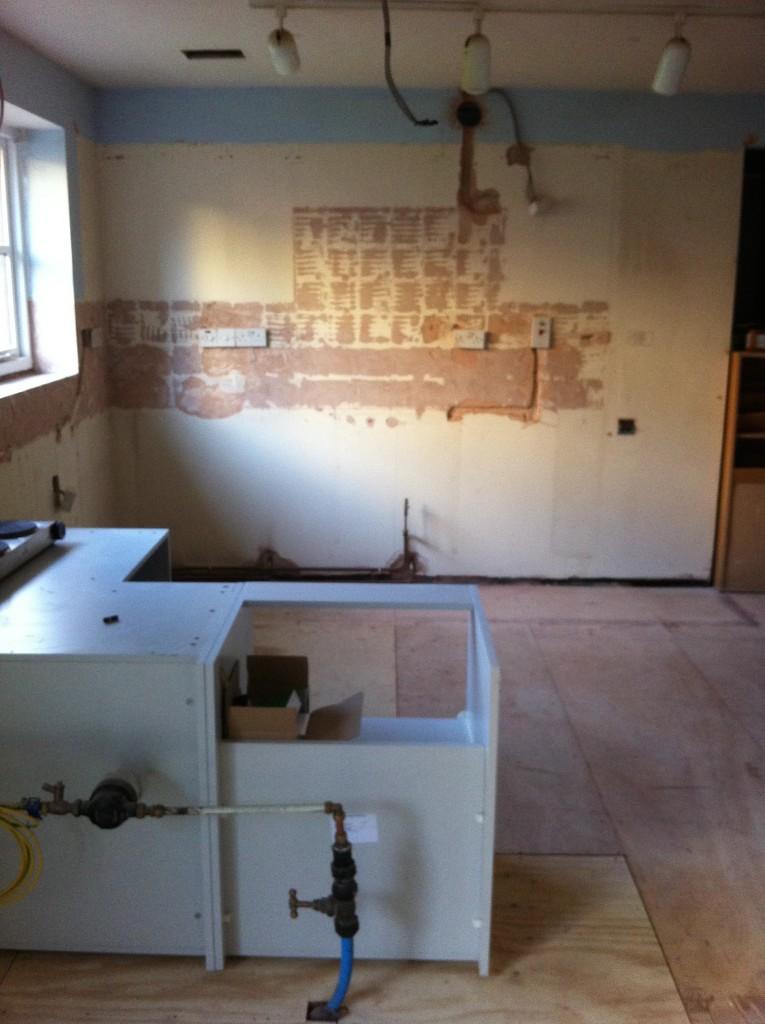 Old  kitchen, New kitchen