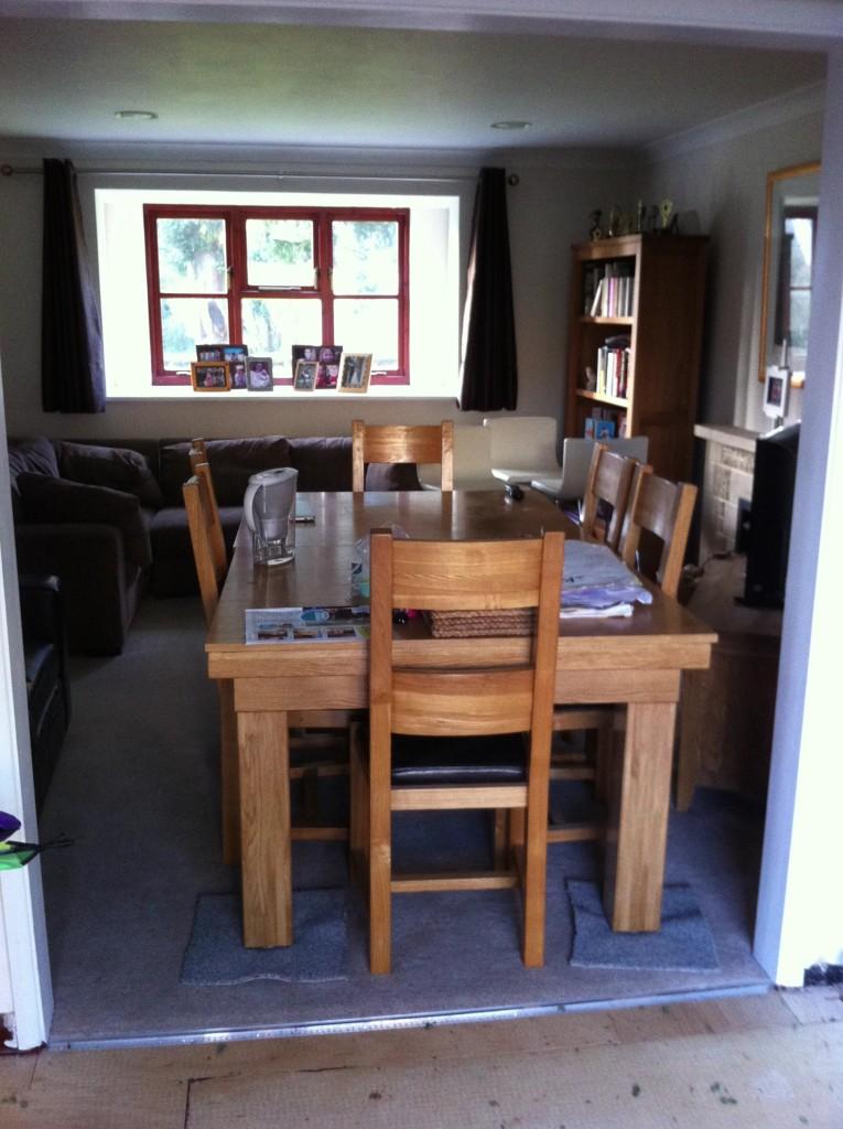 Lounge, New kitchen