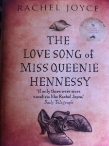 Queenie Hennessy, Book review, Rachel Joyce
