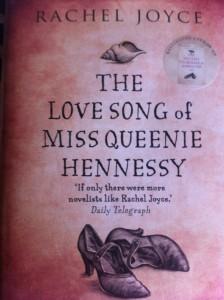 Queenie Hennessy, Book review, Rachel Joyce