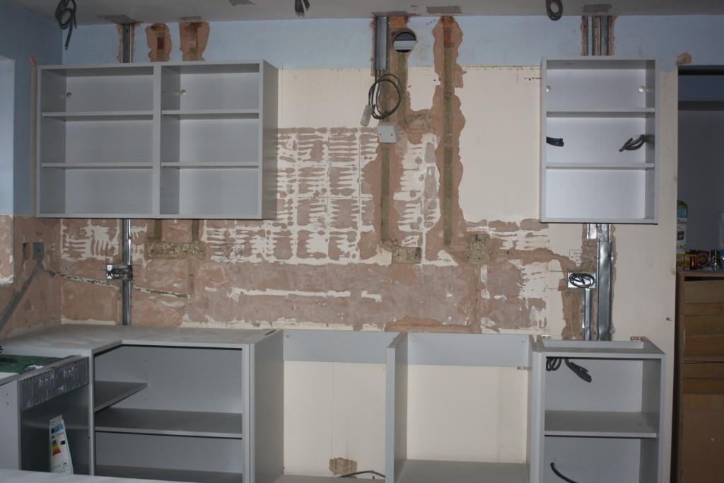 Wall cupboards, New kitchen, Kitchen works, 365