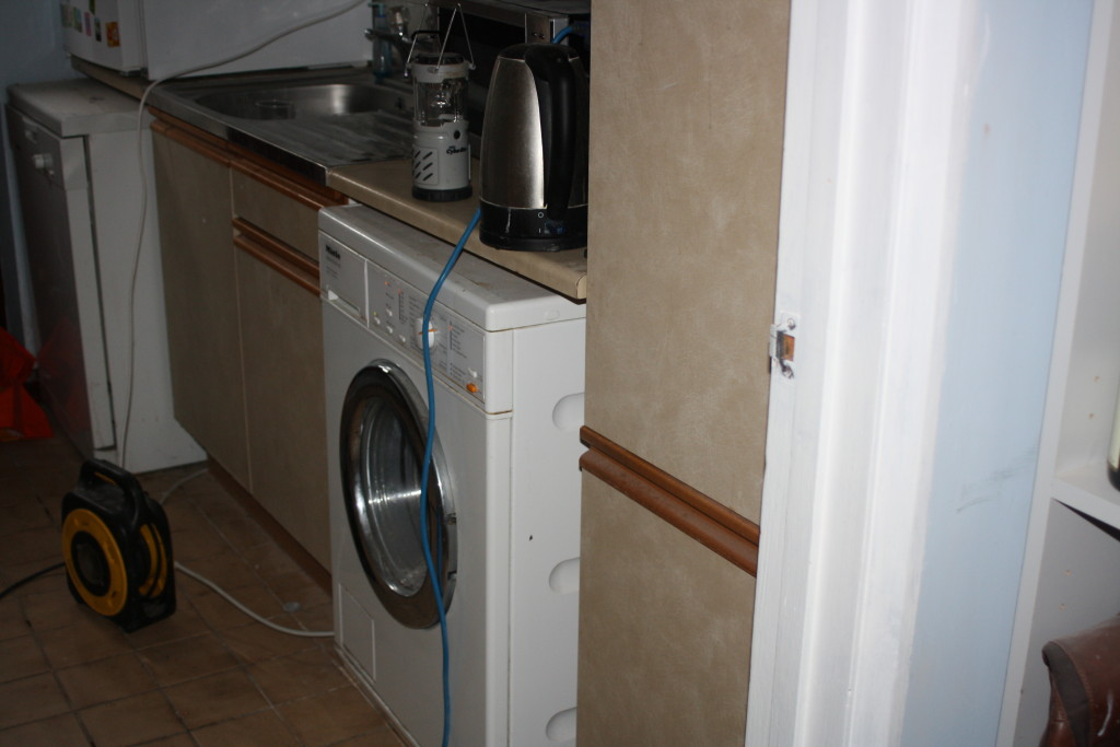 Utility room, Kitchen, New kitchen, Extension cable