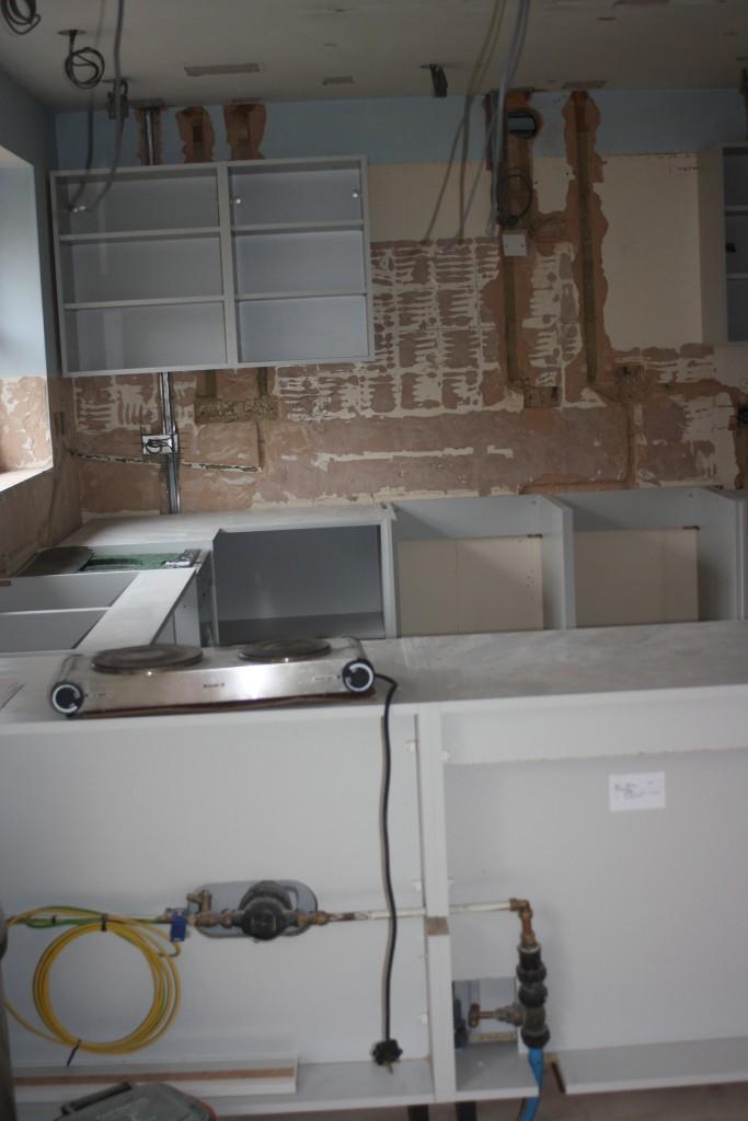 New kitchen, Old kitchen, Kitchen works, Silent Sunday, My Sunday Photo