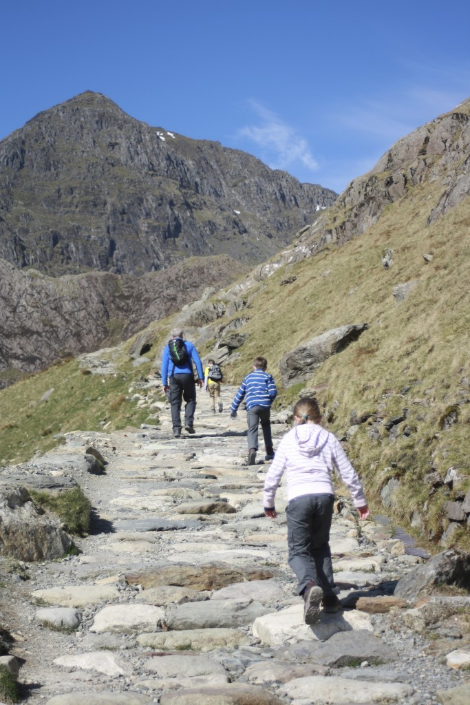 Snowdon, Climbing, Walking