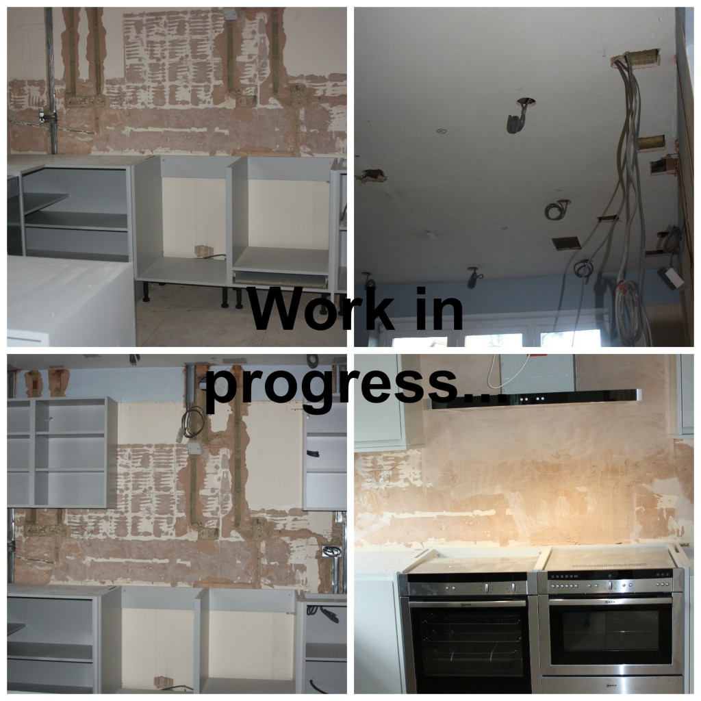 Kitchen progress, New kitchen, Kitchen works