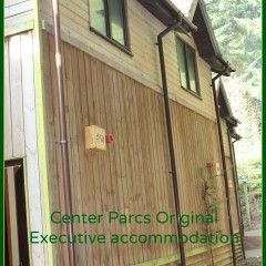 Staying at Center Parcs: Original Executive accommodation