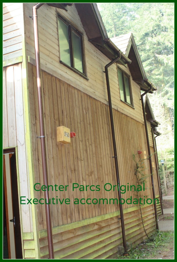 Center Parcs, Center Parcs Original Executive, Center Parcs accommodation, Holidays