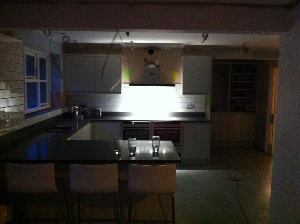 New kitchen, Tiles, Kitchen works, 365