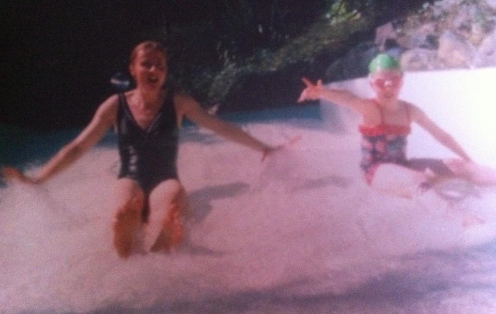 Center Parcs, Daughter, Water, Swimming, Wild Water Rapids