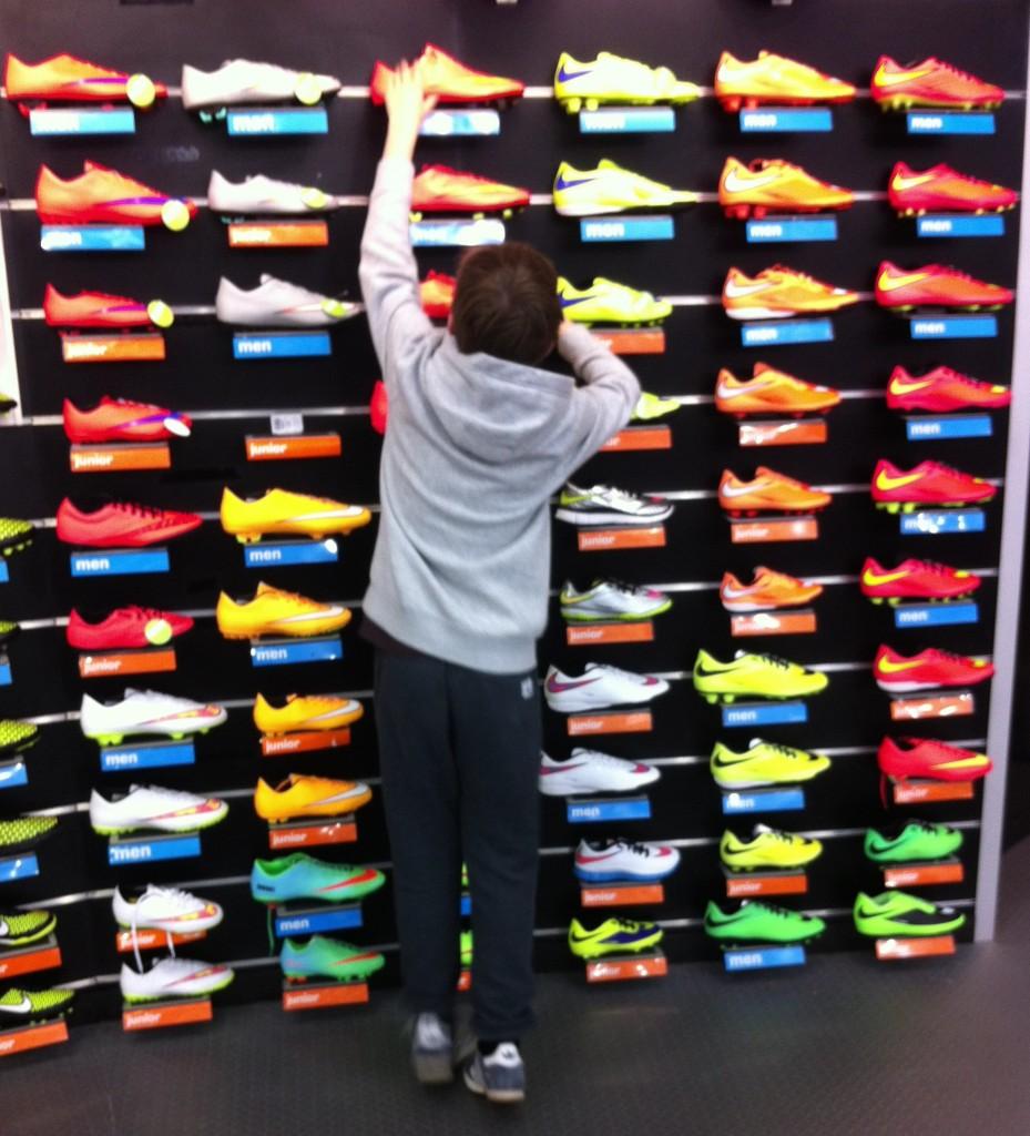 Son, Football boots, 365