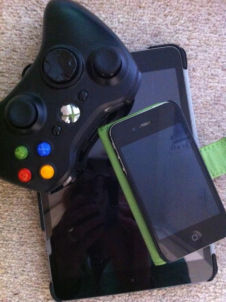 Screens, Phone, iPad, Xbox
