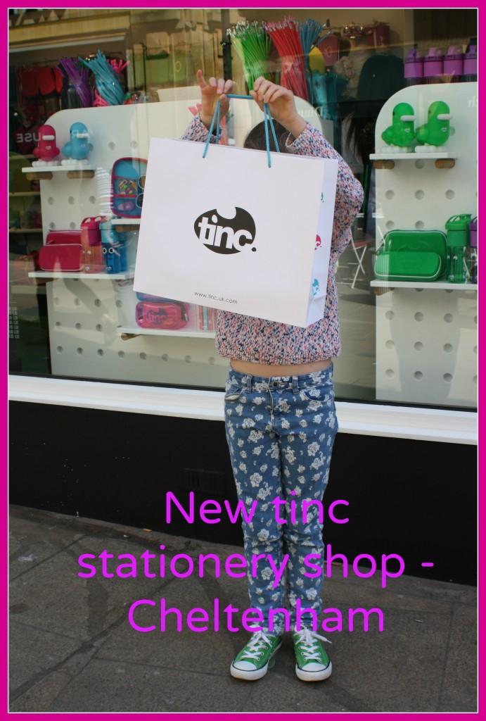 Tinc, Stationery, Shopping, Daughter, Cheltenham