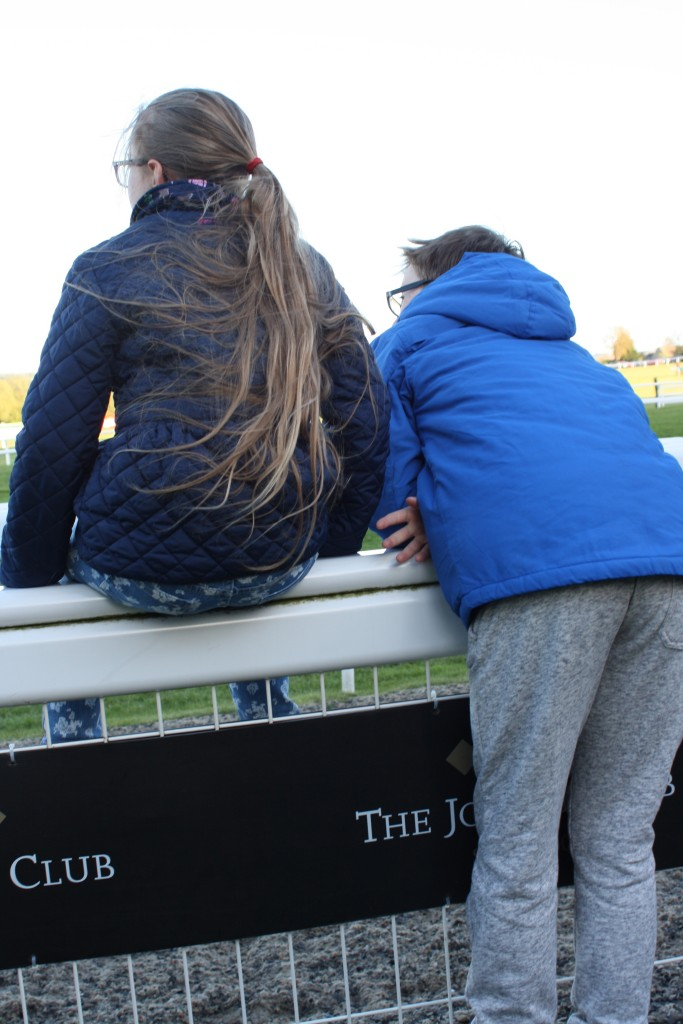 Cheltenham races, Son, Daughter, Silent Sunday, My Sunday Photo