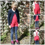 What she wore: Short dungarees