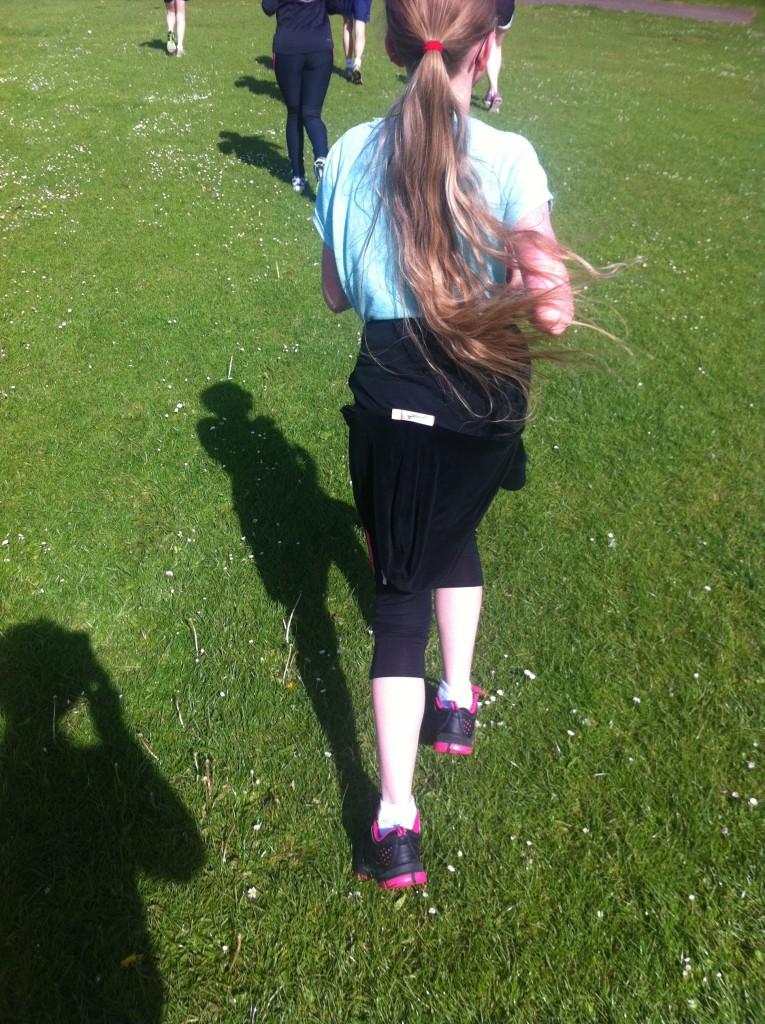 Daughter, Running, Parkrun, Loud 'n' Proud