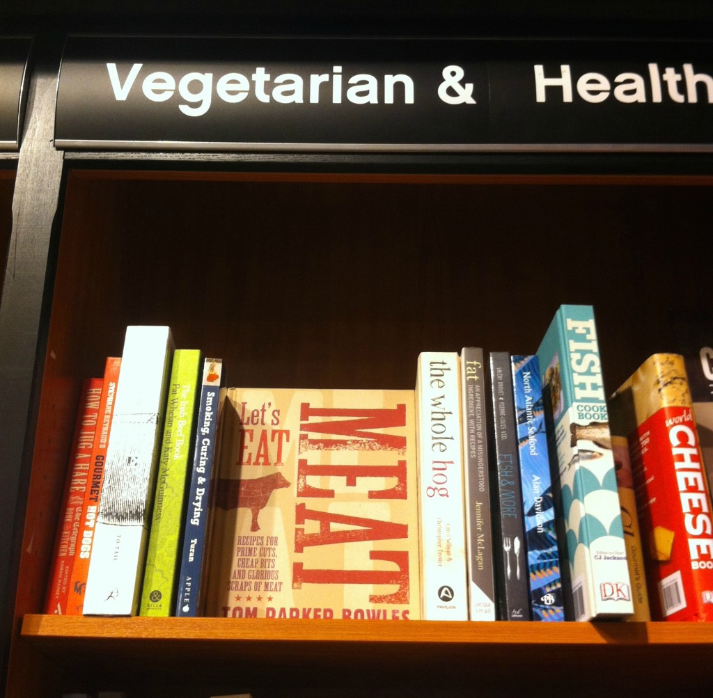 Books, Vegetarian, Waterstones, 365