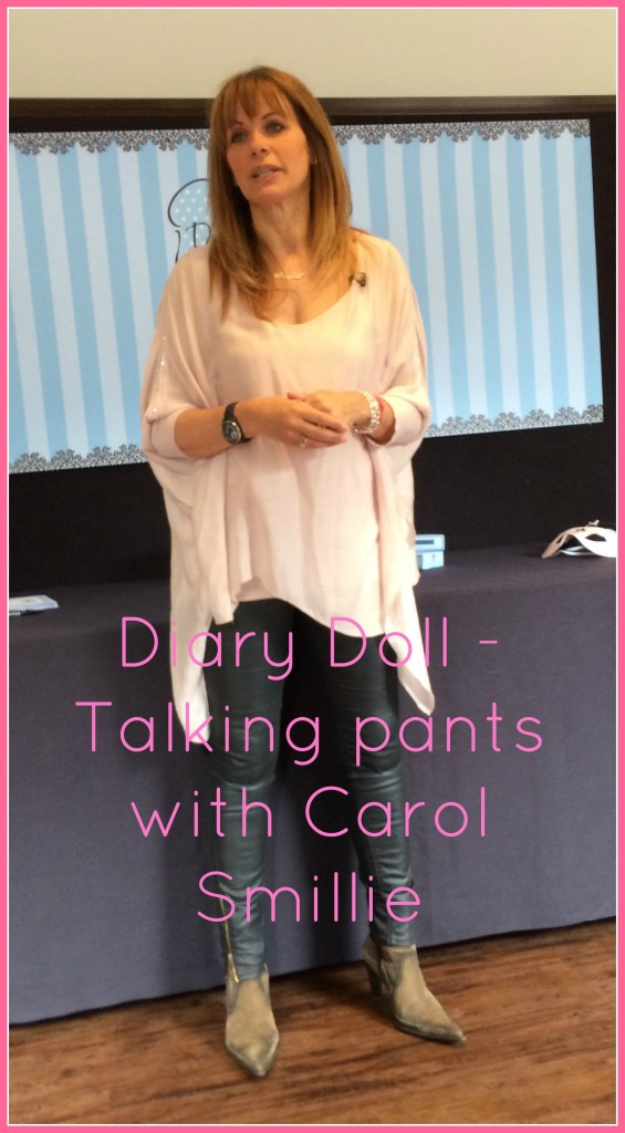 Carol Smillie, Diary Doll, Diary Doll knickers, Diary Doll pants, Periods, Britmums Live