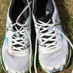 First half marathon training run of the year