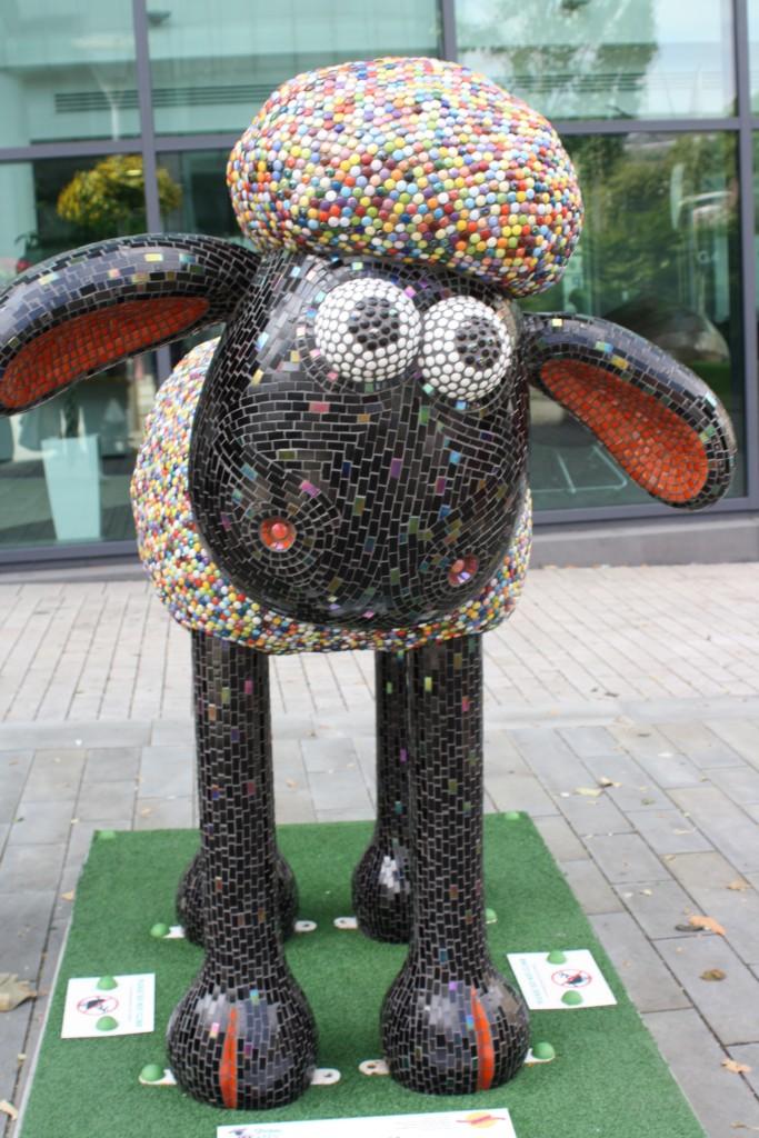 Shaun the Sheep, Shaun in the City, Silent Sunday, My Sunday Photo, Bristol