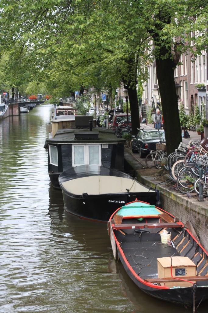 Amsterdam, Boats, Holiday, Travel