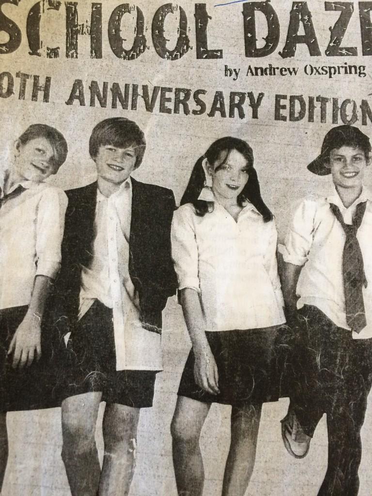 Leavers' play, School, Primary School, year 6, son